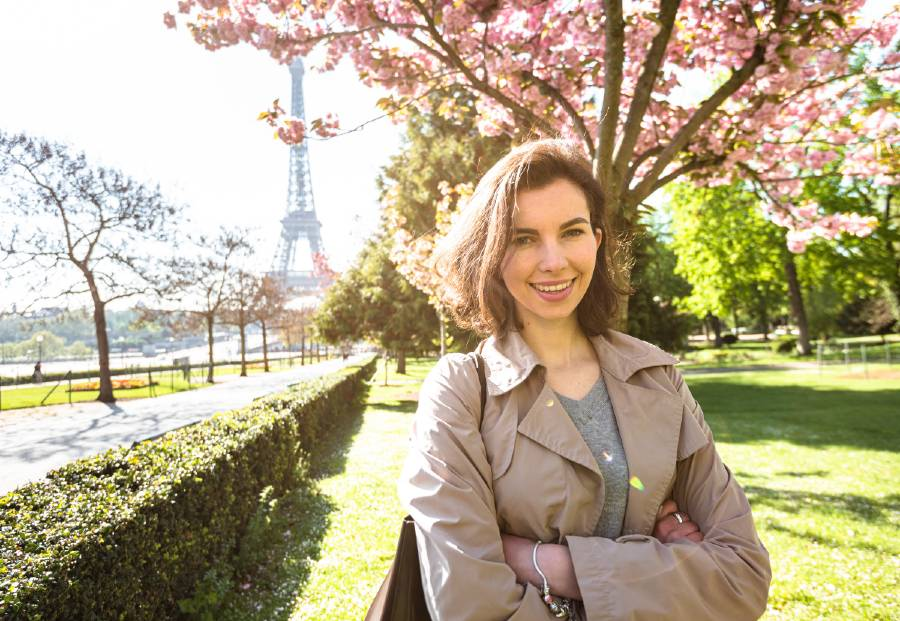 How to dress in paris in spring