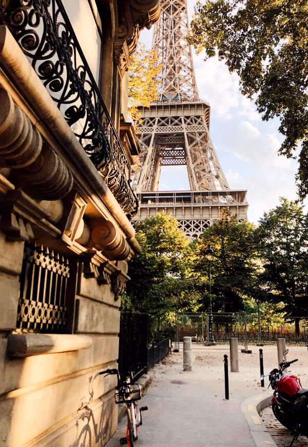 best place to view the eiffel tower