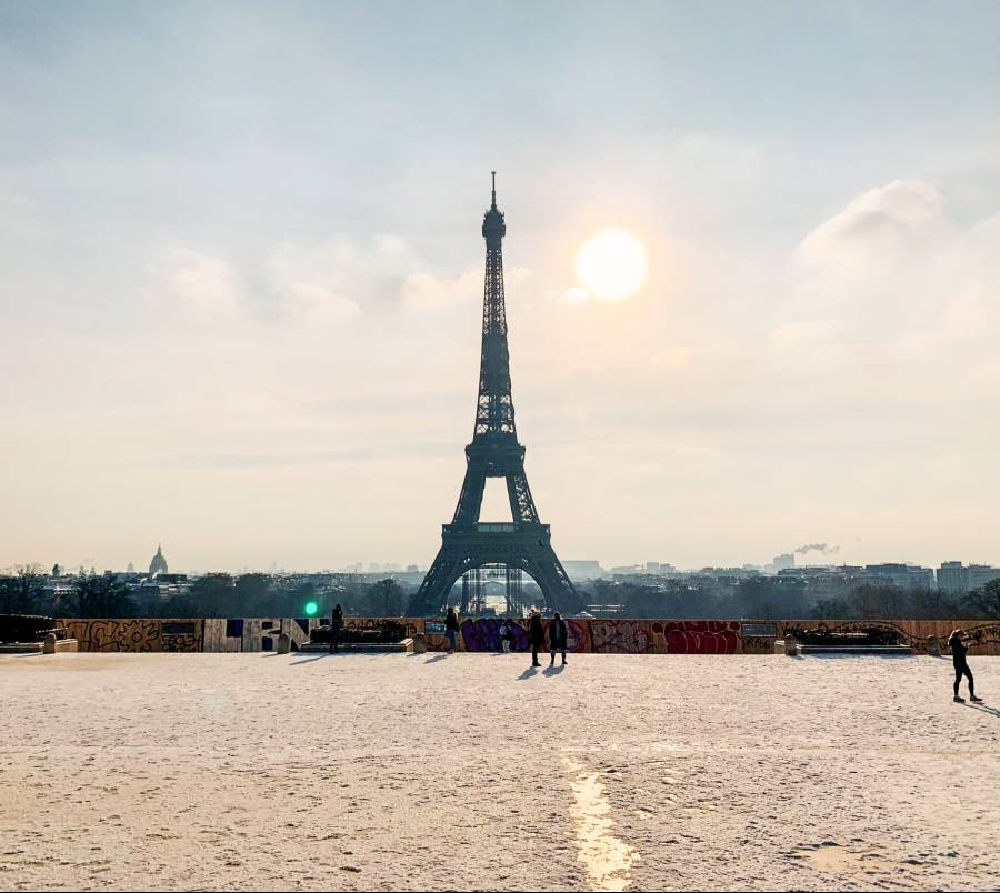 best views of the Eiffel Tower