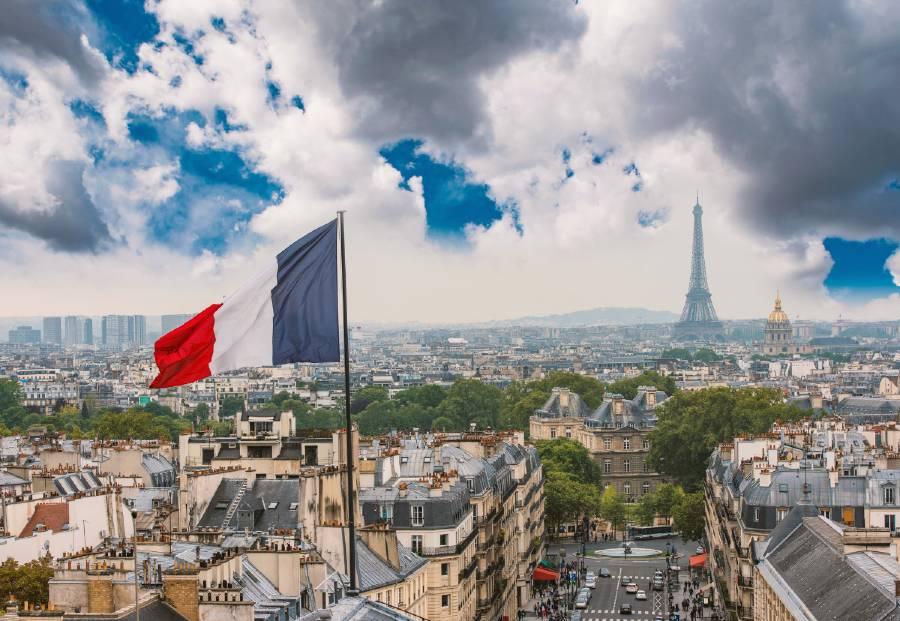 views of paris from the Panthéon