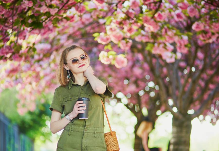 packing list for paris in spring