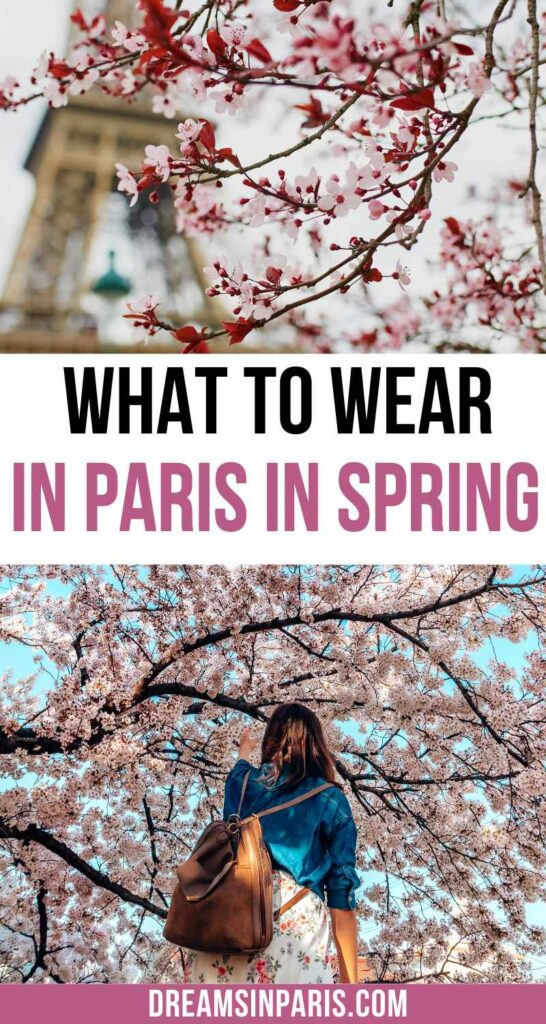 what to wear in paris in spring
