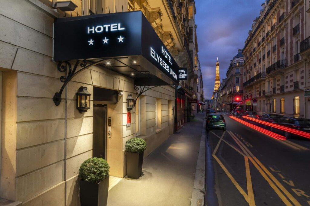Elysées Union is one of the Best Hotels with Eiffel Tower View in Paris