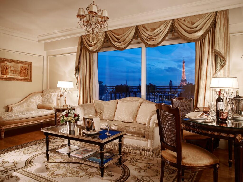 Hôtel Balzac is one of the Best Hotels with Eiffel Tower View in Paris