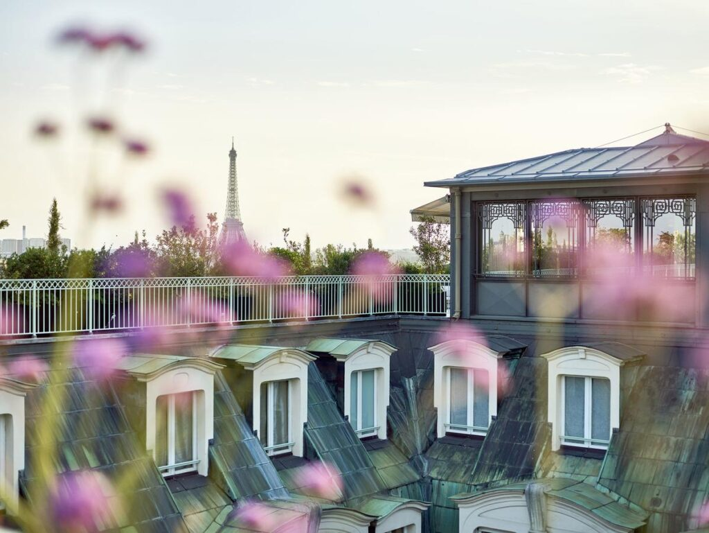 Hotel Le Meurice is one of the Best Hotels with Eiffel Tower View in Paris