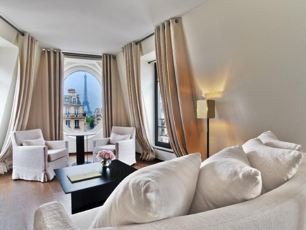 Le Metropolitan Hotel is one of the Best Hotels with Eiffel Tower View in Paris
