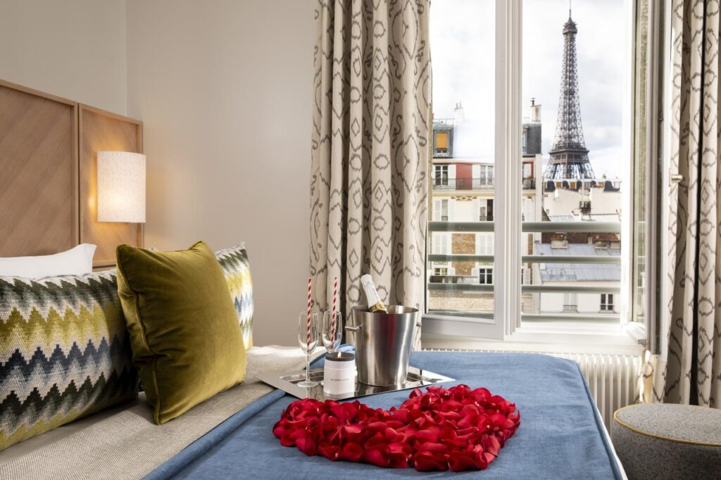 Les Jardins d'Eiffel is one of the Best Hotels with Eiffel Tower View in Paris