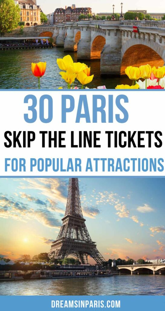 Are you looking for Paris skip line tickets? This post summarizes all the Paris skip the line tickets for you to make sue that you save time while looking for them online.   skip the line in Paris  Eiffel tower skip the line tickets  skip the line tickets in Paris  skip the line Paris tickets  Paris Skip the Line Tickets  louvre skip the line tickets  skip the line Paris tours  Paris catacombs skip the line   Paris travel tips first time   how to skip the line in Paris   Paris tips and tricks #paristraveltips #paristravelguide