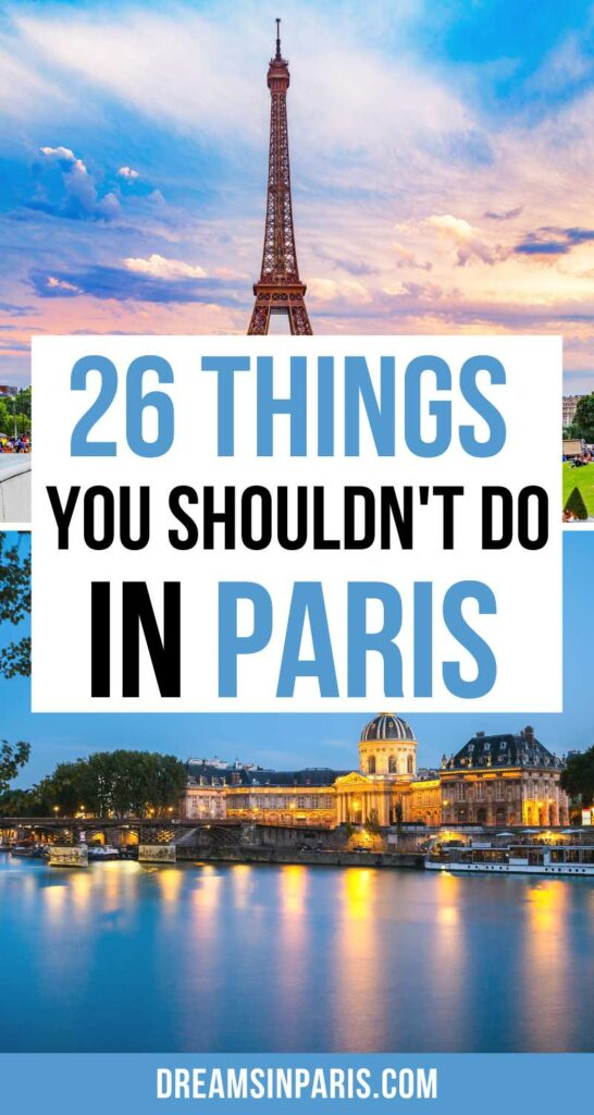 Traveling to Paris? Here are the big mistakes not to do and how to avoid them |Paris travel tips |tips for traveling to Paris for the first time |big mistakes to avoid while traveling in Paris |what not to do while traveling in Paris |everything to know before traveling to Paris | things no one tells you about Paris |what not to do in Paris |things to know before traveling Paris| | tourist mistakes in Paris| things to avoid in Paris | Paris mistakes #travelmistakestoavoidinparis #parisfrance #tipsforvisitingparis #parismistakestoavoid #paristravelguide