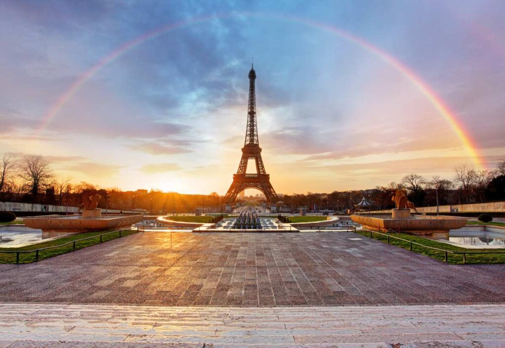 how to skip the lines in Paris