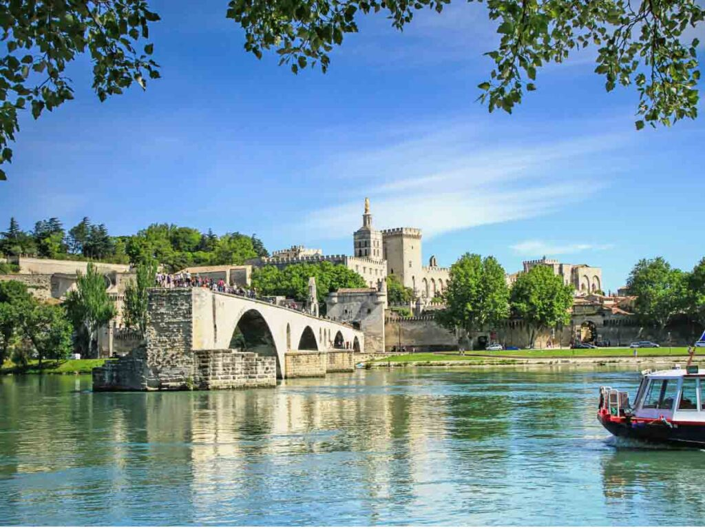 Avignon is one of the best train trips from Paris