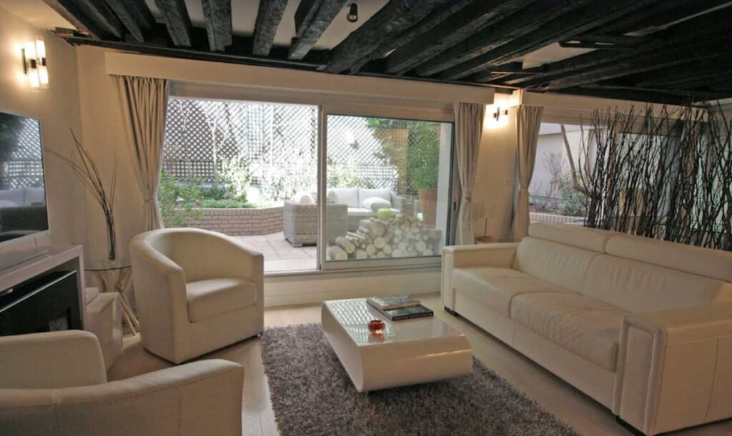 This Charming apartment with a terrace is one of the best Paris vacation rentals