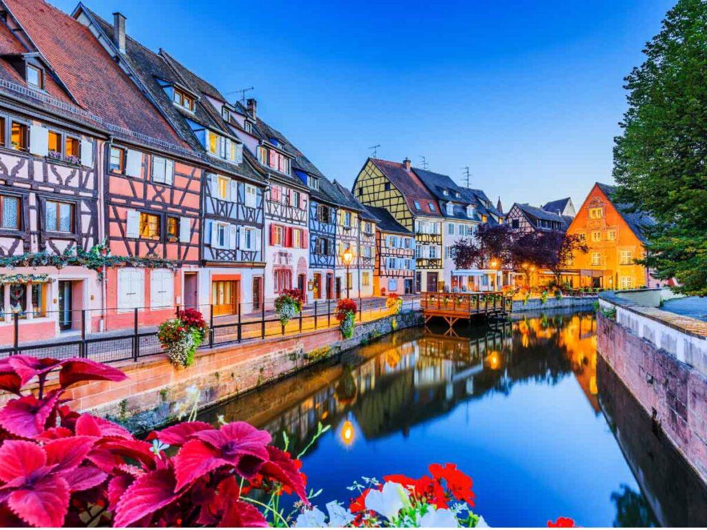 Colmar is one of the epic weekend getaways from Paris