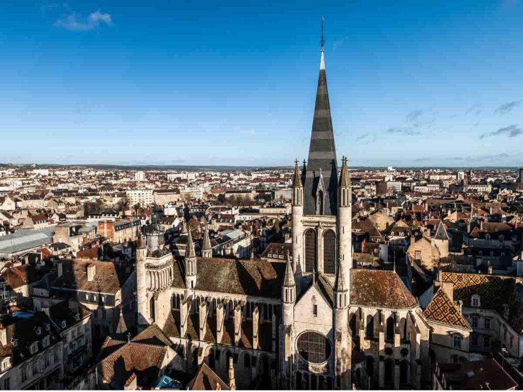 Dijon is one of weekend getaways from Paris