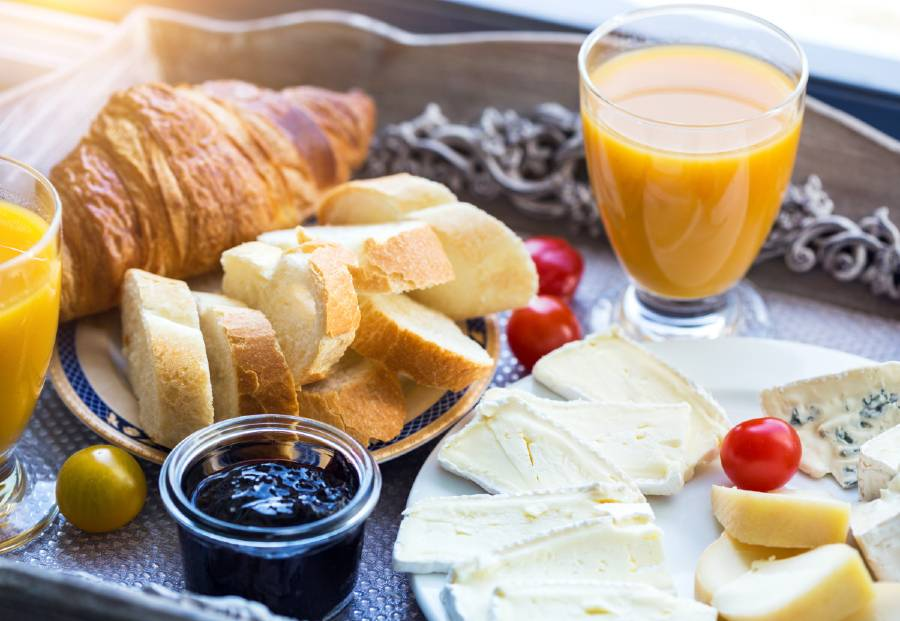 Having a French breakfast is one of the things to do a weekend break to Paris