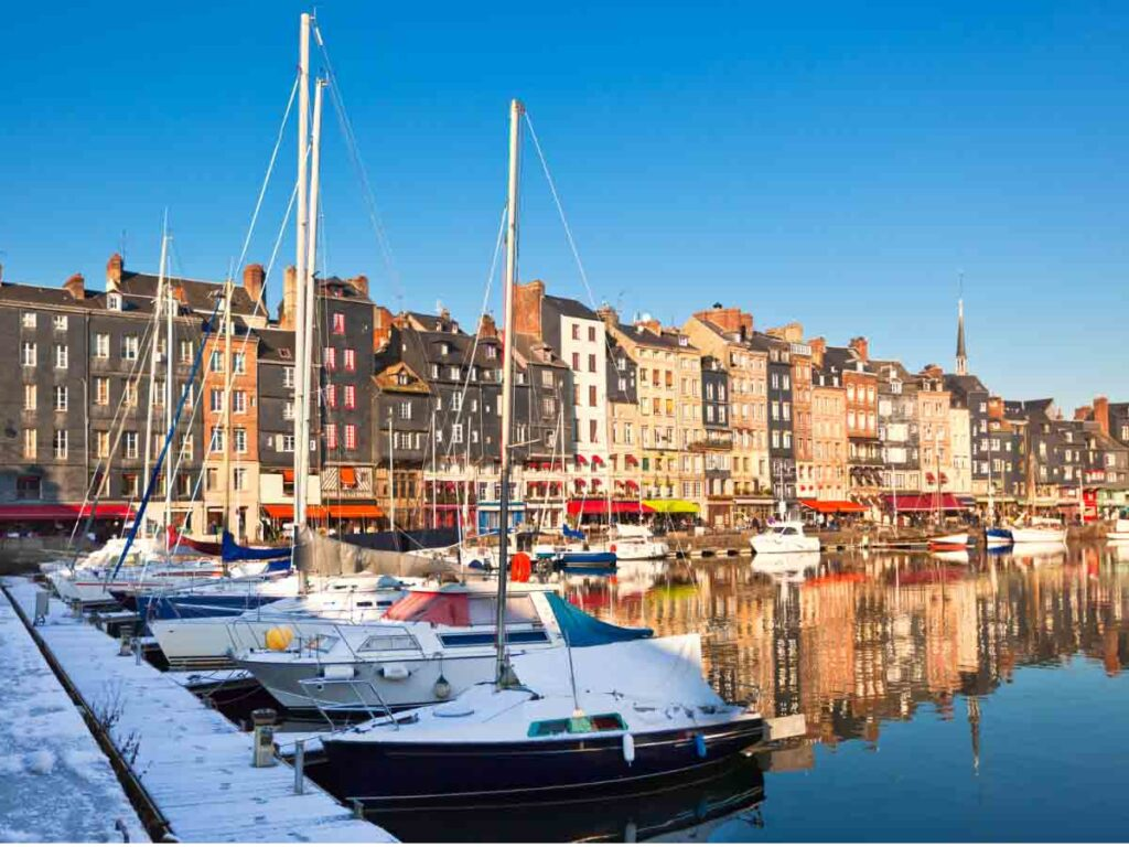 Honfleur is another destination for a perfect weekend trip from Paris