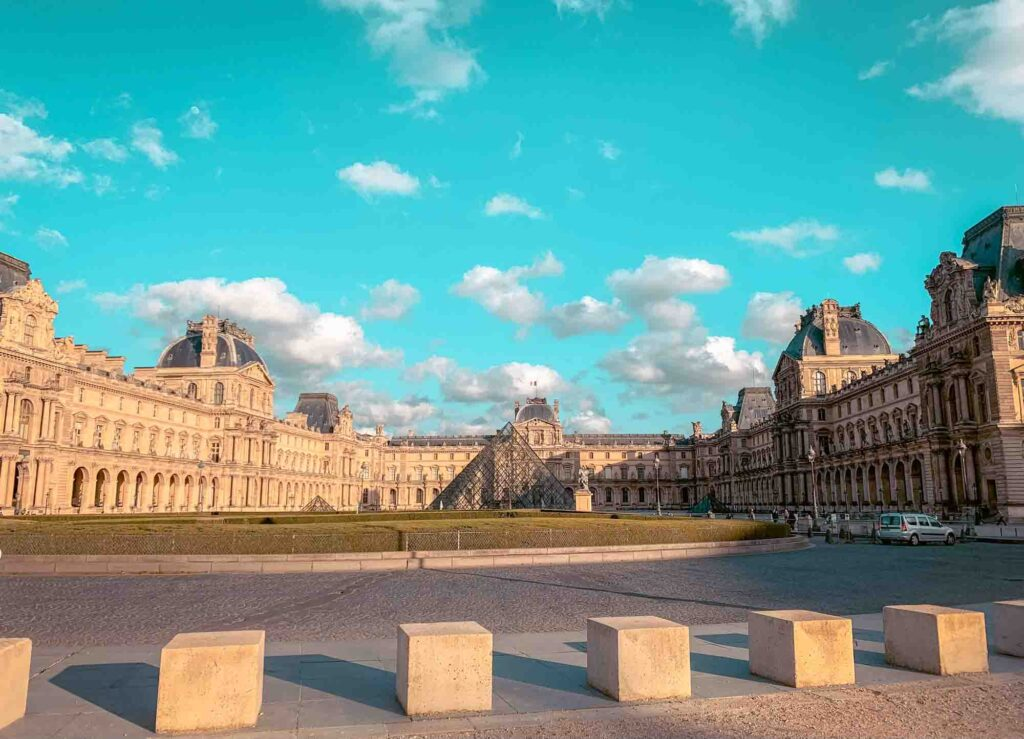 Louvre museum is one of the things to see in Paris