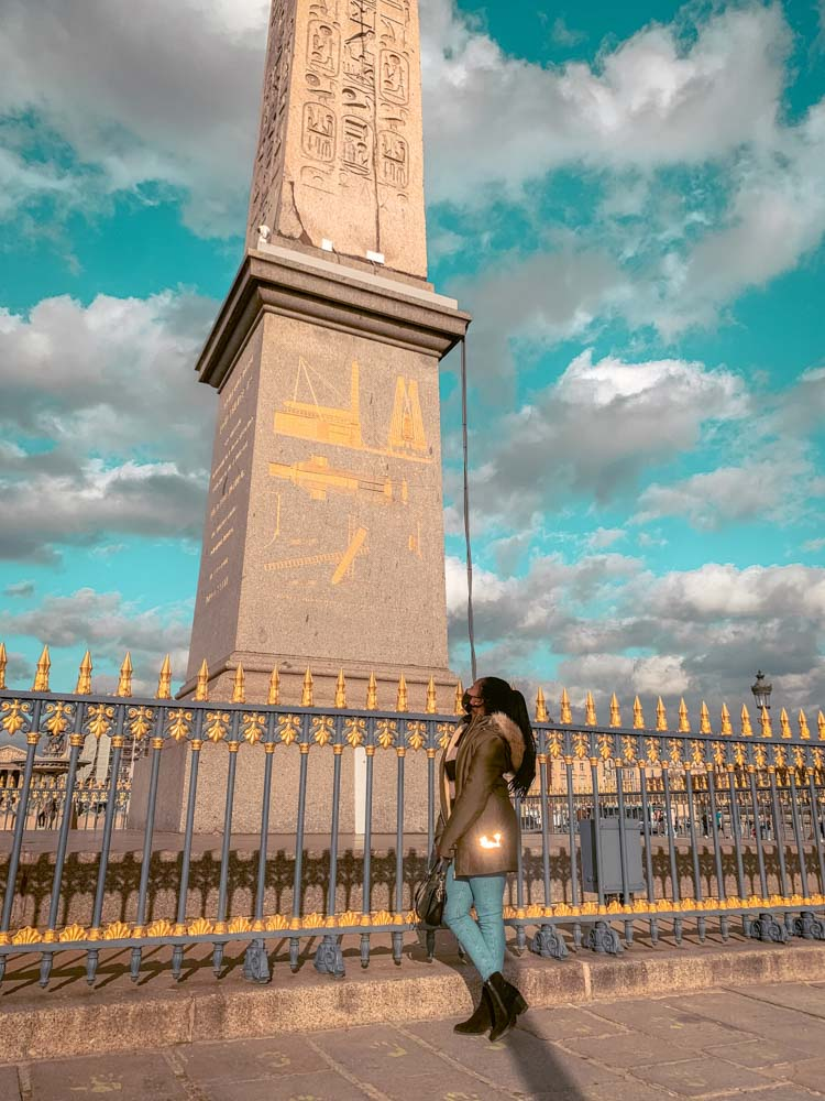 Place de la Concorde is one of the places to visit on your 2 day weekend Paris itinerary