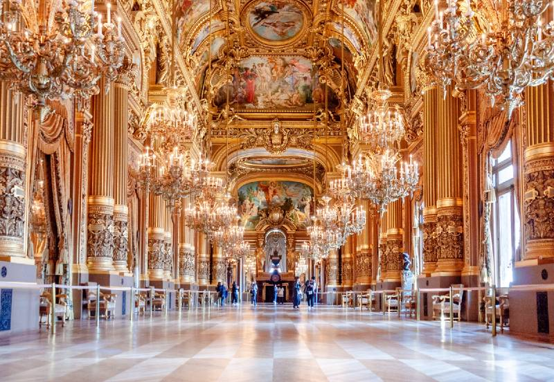 Palais Garnier is one of the places to visit on your weekend in Paris trip