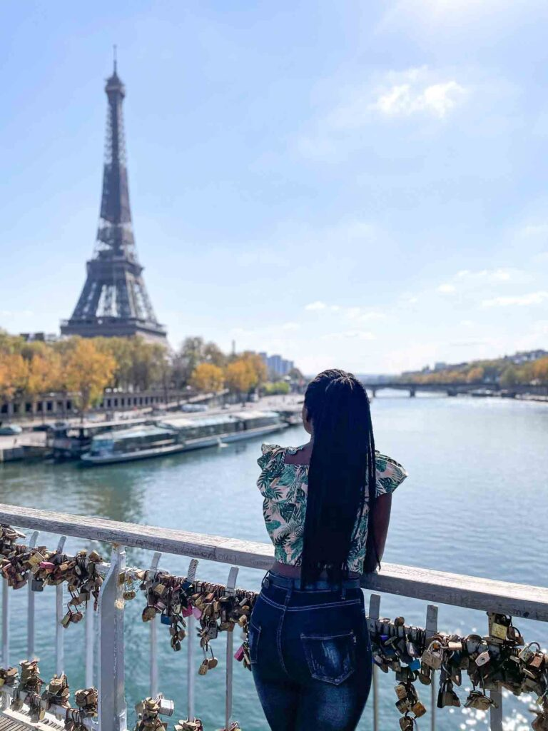 Passerelle Debilly is one of the best places to take Eiffel Tower pictures