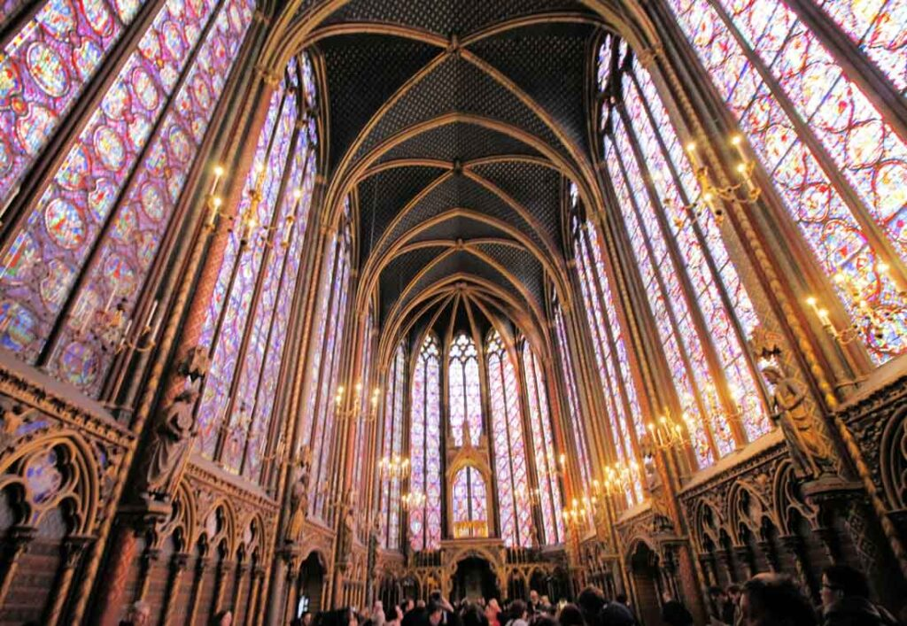 Sainte-Chapelle is one of the beautiful places in Paris
