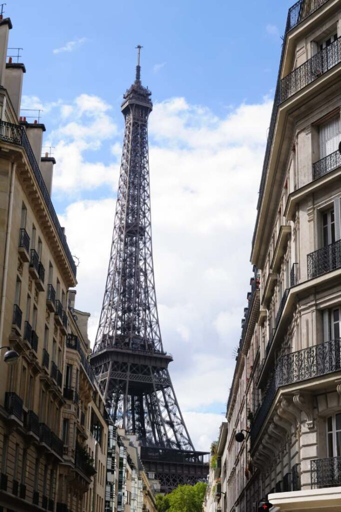 Square Rapp is one of the best Eiffel Tower Photo spots