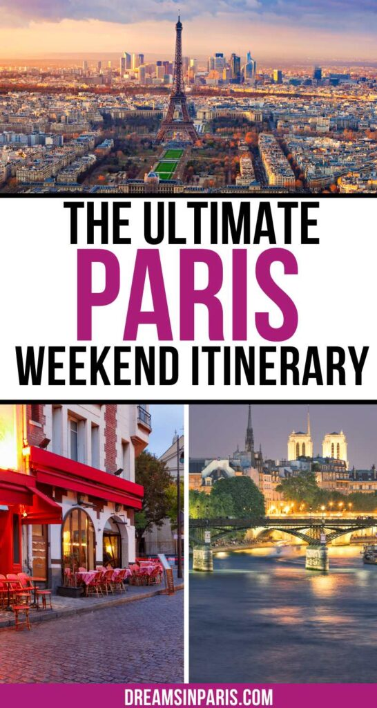 Planning to go for a weekend trip to Paris? Here is the perfect 2 day Paris weekend itinerary that will guide you.   How to see Paris in a weekend  Weekend in Paris  Paris weekend trip  Paris weekend trip  2 days in Paris itinerary  Paris 2 days itinerary  2 days in Paris itinerary  Paris weekend itinerary  weekend in Paris itinerary  Paris weekend itinerary  Paris for the weekend  weekend trip to Paris  what to do in Paris for a weekend