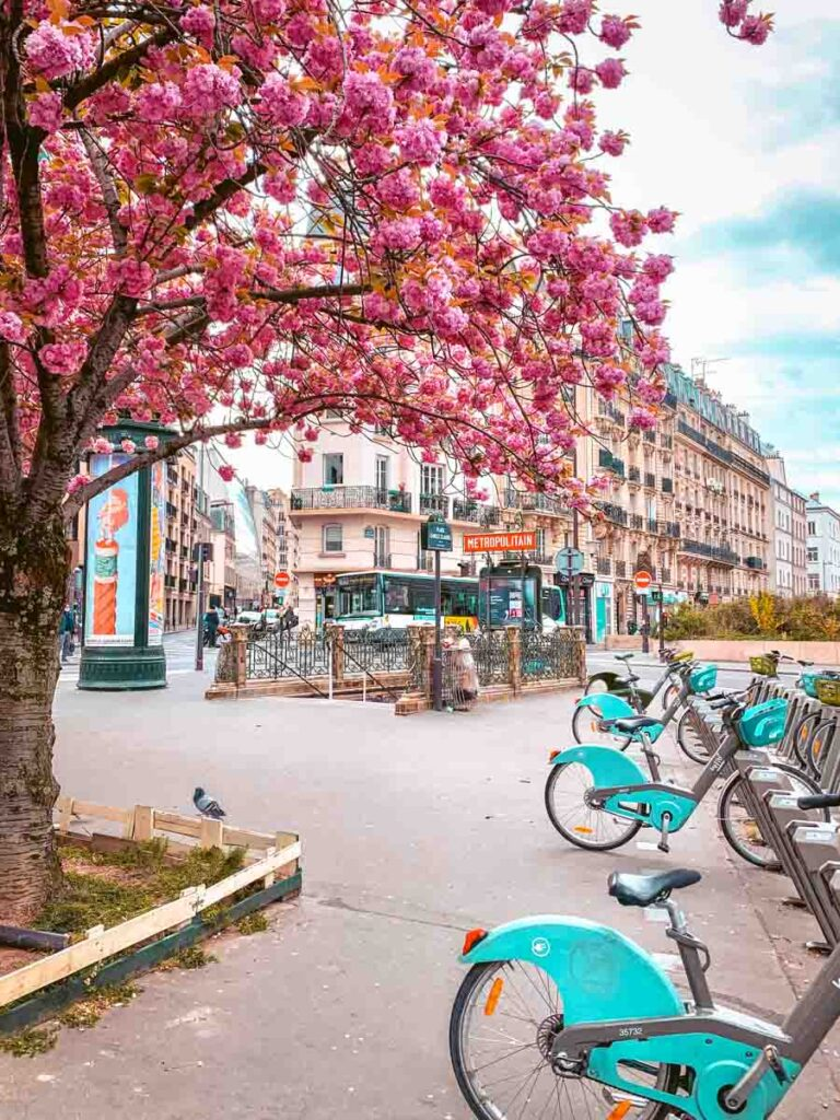 Paris first time visitor