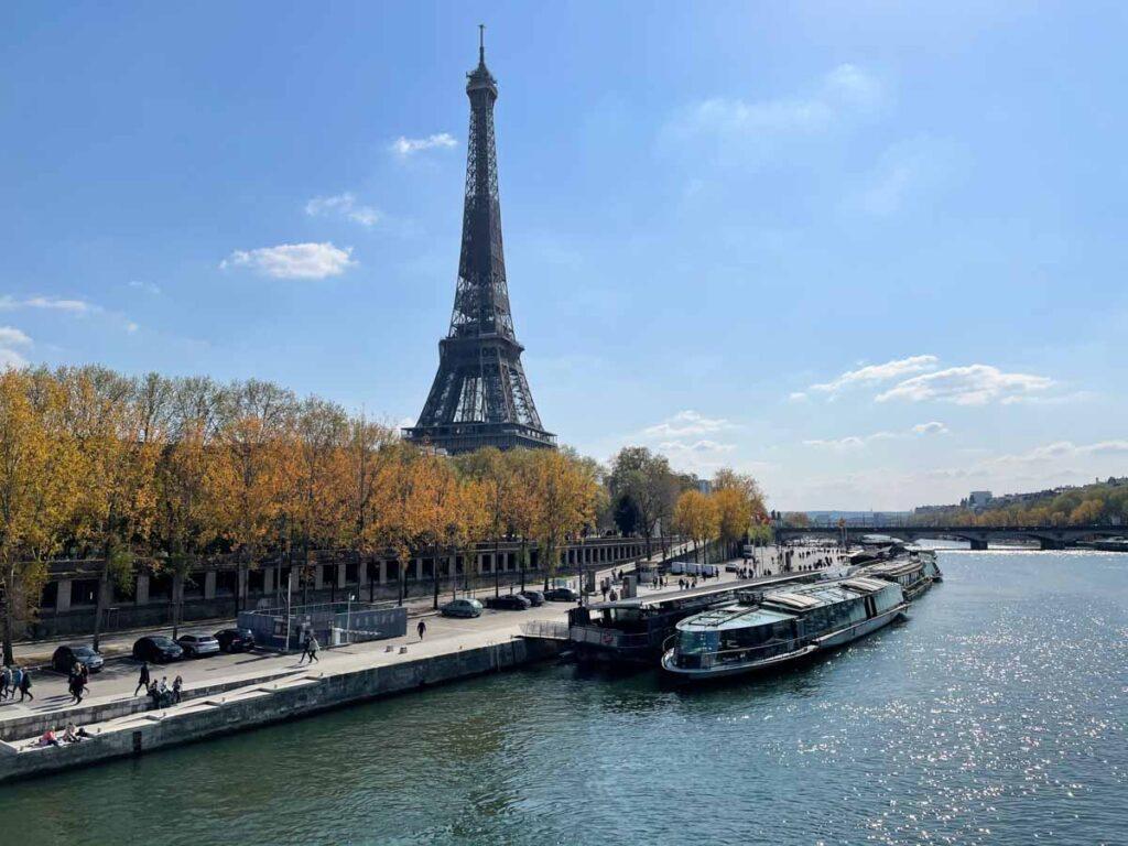 Cruising the Seine is one of the Paris bucket list activities