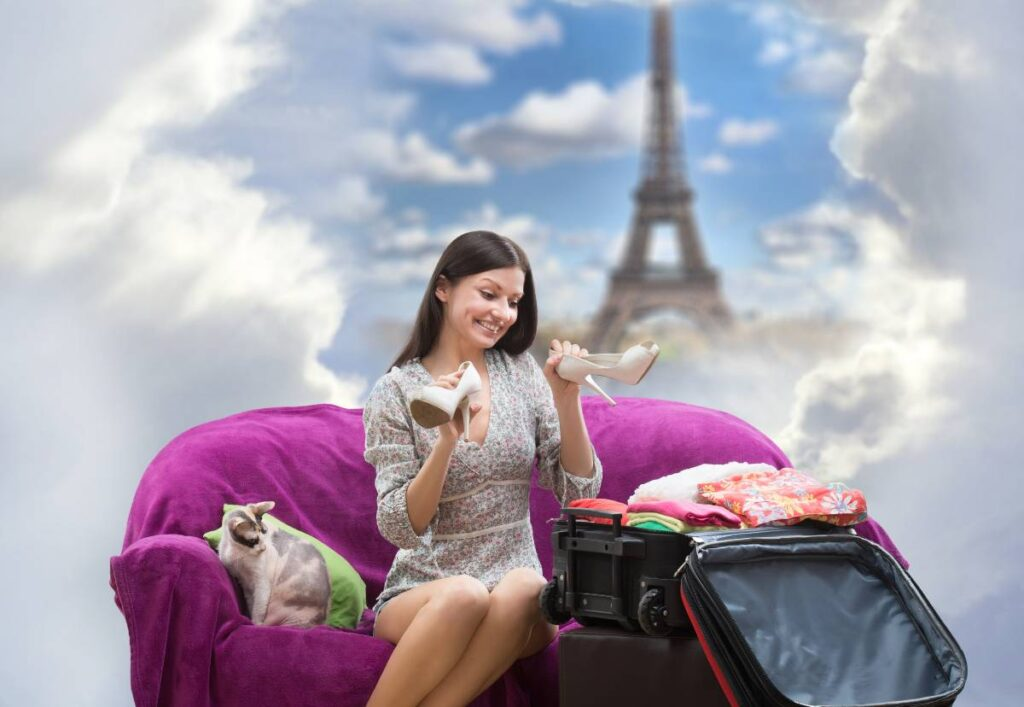 Packing the right essentials is one of the tips for having a great time on a weekend in Paris