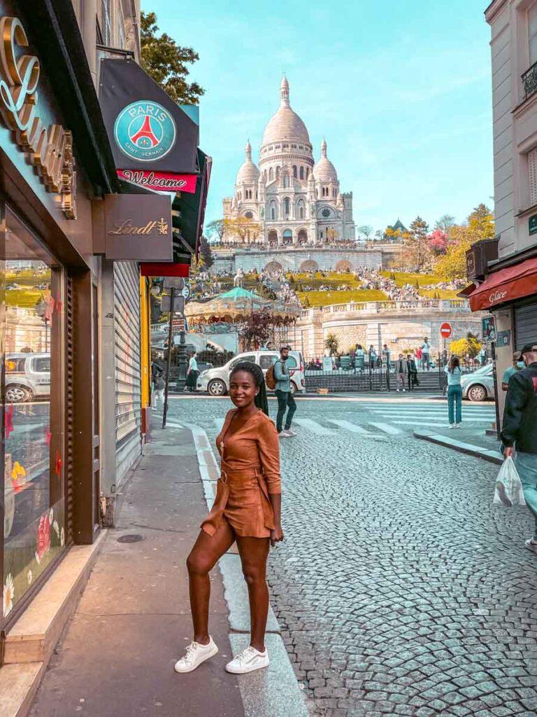 Paris in summer