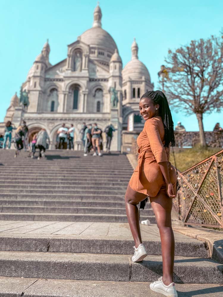 visiting Sacré-Cœur  is one of the things to do on your weekend trip to Paris