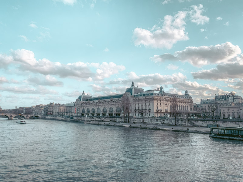 Pont des arts is one of the places to visit on your weekend in Paris trip
