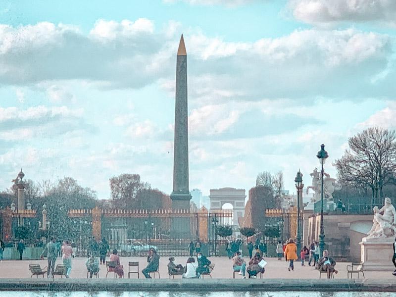 views of Place de la Concorde