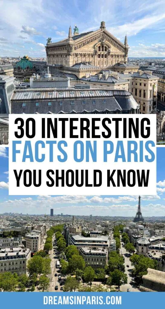 Want to learn more about Paris? Here are the most interesting Paris facts that you probably didn't know. | Fun facts about Paris| Interesting facts about Paris France| facts on Paris| facts about Paris for kids| facts about Paris France| Paris facts for kids| things you should know about Paris.